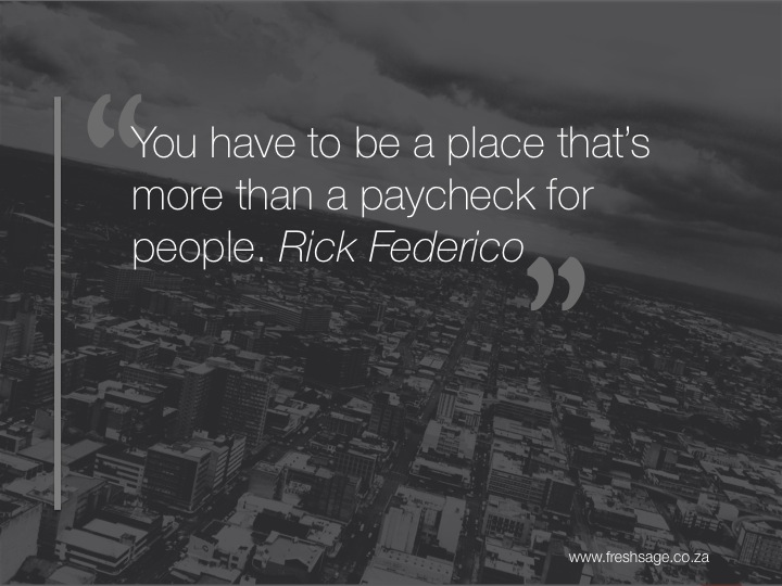 Are you offering more than a pay check?