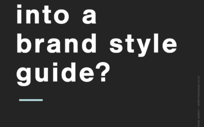 What goes into a brand style guide?