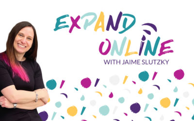 "freshly baked | branding for ""Expand Online"" a fresh new podcast for artists"