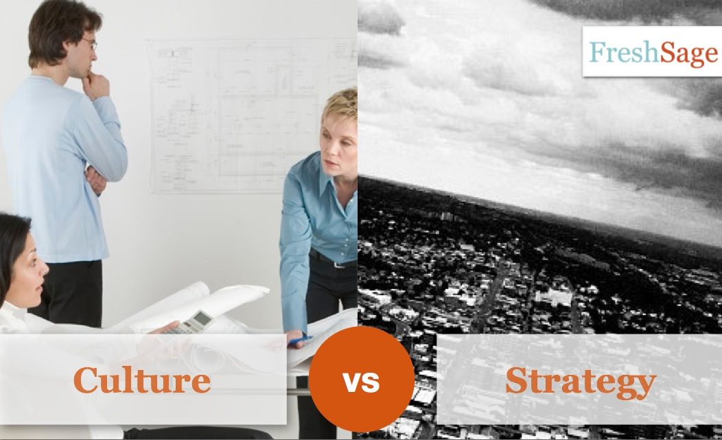 Culture vs Strategy: Is there even a debate?