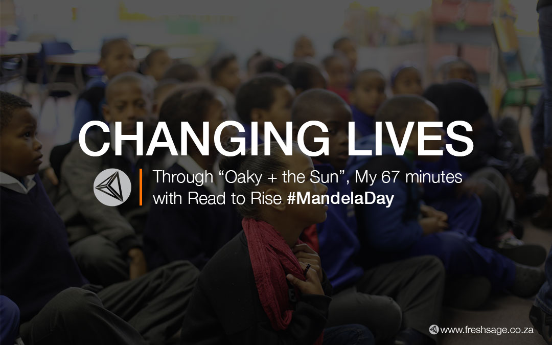 "Changing lives –  Through ""Oaky and the Sun"" 