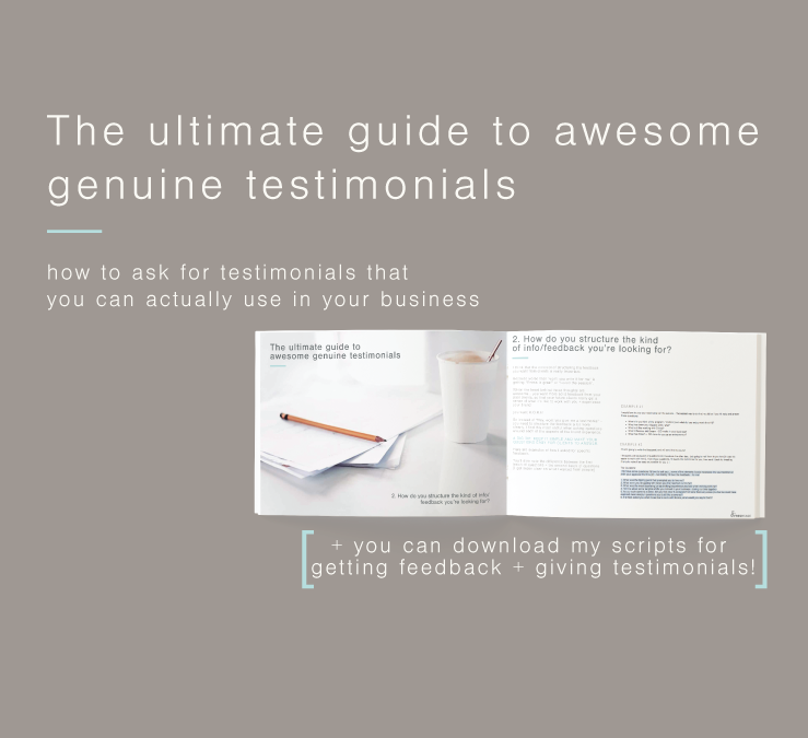 The ultimate guide to awesome genuine testimonials