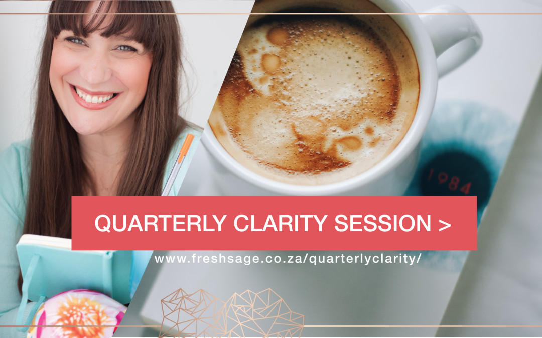 Moving Past the First Quarter | Quarterly Clarity Session