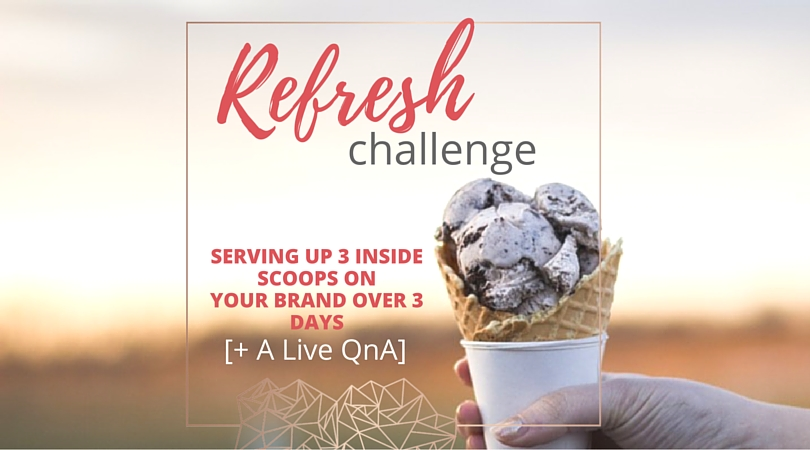 Brand Review: Want the inside scoop? How about a Little Refreshing Challenge?