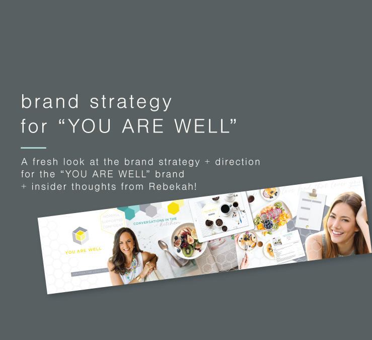 "Adding fresh strategy flavour to the ""YOU ARE WELL"" brand"
