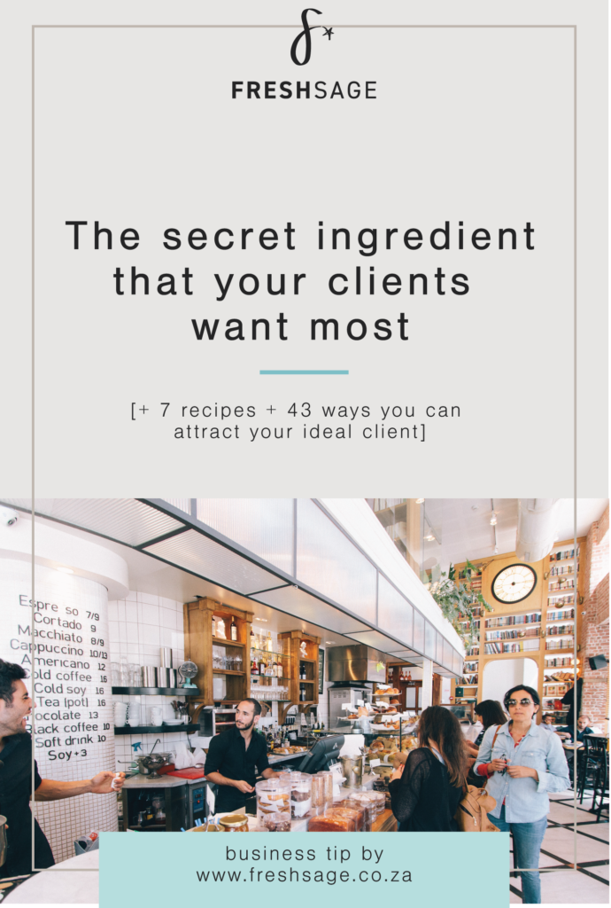 attract ideal client
